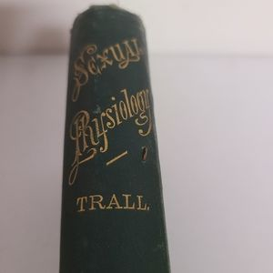 Sexual rhysiology  trall 1866